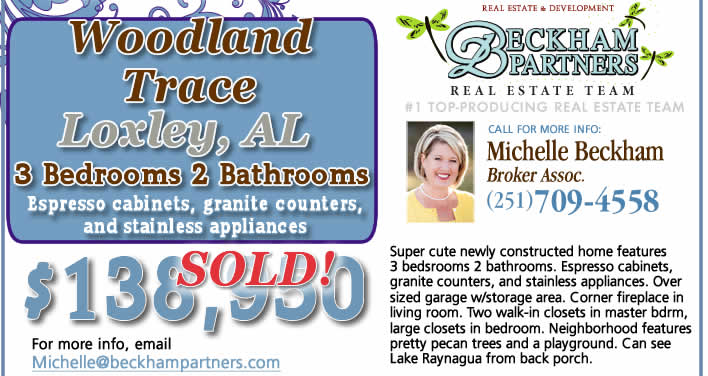 Loxley, AL Home for Sale
